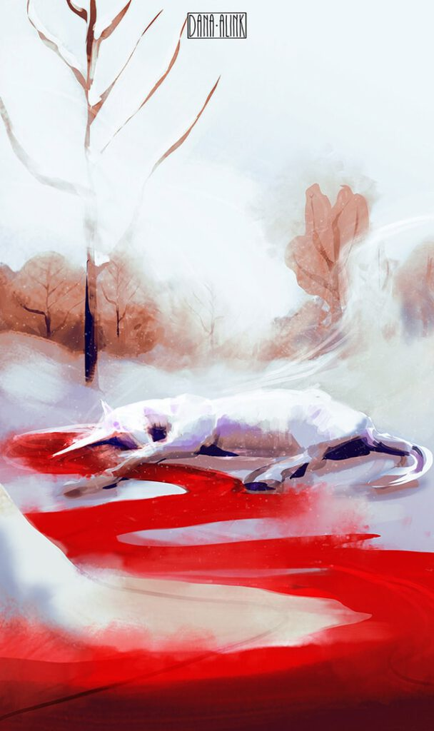 daily-spitpaint-blood-of-a-unicorn